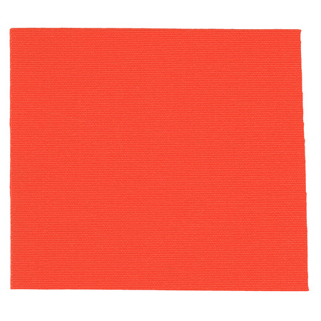 tensile: Orange fabric samples for tensile tension structures - matte texture