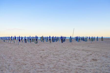 lido: The Venezia Lido beach in Venice, Italy