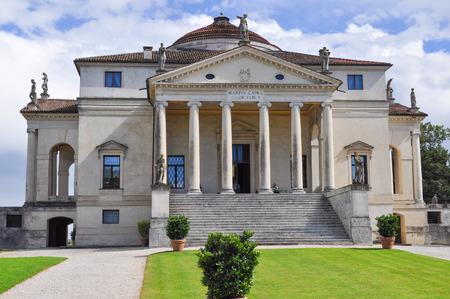 capra: The Villa La Rotonda aka Villa Capra in Vicenza, Italy