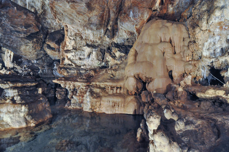 Grotte di Toirano meaning Toirano Caves are a karst cave system in Toirano, Italy
