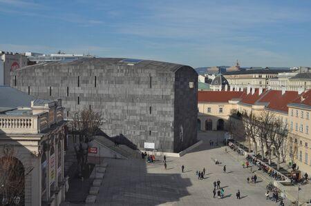 leopold: WIEN, AUSTRIA - CIRCA FEBRUARY 2016: Leopold Museum in the Museumsquartier