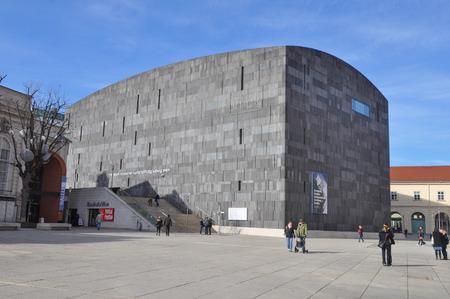 wien: WIEN, AUSTRIA - CIRCA FEBRUARY 2016: Leopold Museum in the Museumsquartier