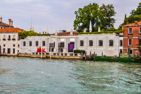 VENICE, ITALY - AUGUST 19, 2014: High_dynamic_range (HDR) The Peggy Guggenheim collection in Venice Italy
