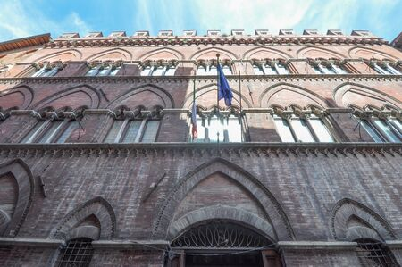 Pinacoteca nazionale (meaning National Pinacotheca) in Siena, Italy