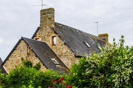 leonard: High dynamic range (HDR) View of the town of Saint Leonard in France