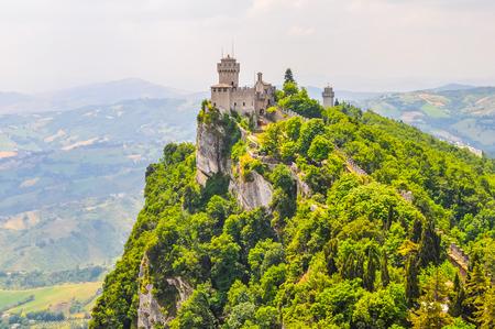 High dynamic range (HDR) Rocca Guaita in the Republic of San Marino