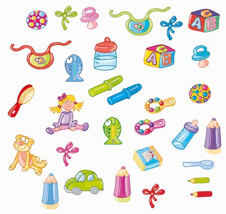 gag: small items for the infant game
