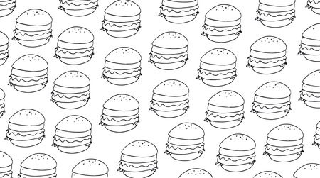 Cards or cloths with the motif repeated to the drawn design, a sandwich designed for even banners Stok Fotoğraf