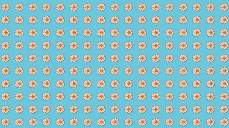flower repeated pattern