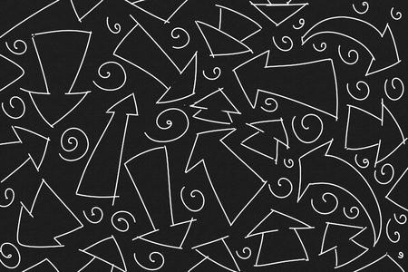 the bizarre arrows stylized series Banco de Imagens