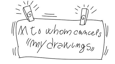 stylized comic book style humorist drawings Stock Photo