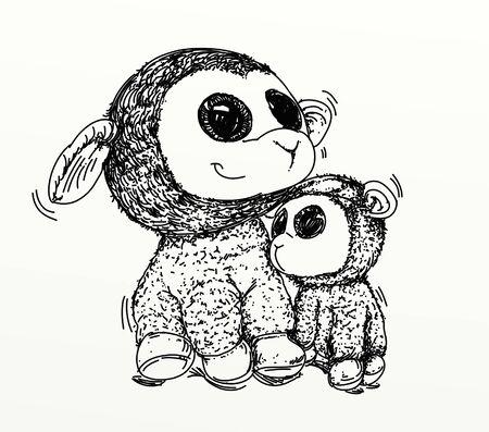 the sheep 版權商用圖片