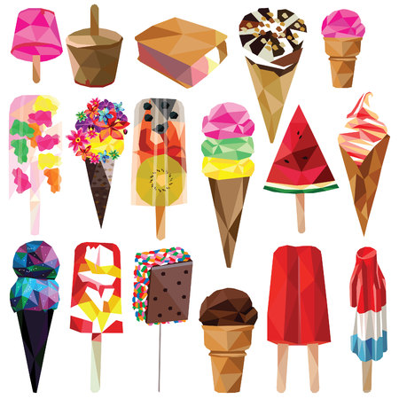 Ice creams Illustration