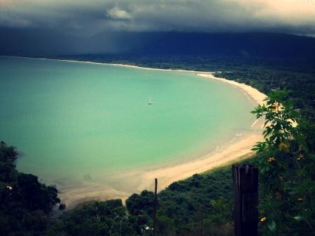 felix: Felix beach ubatuba brazil Stock Photo