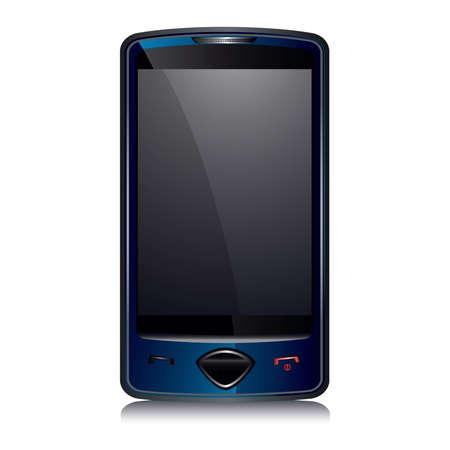 pocket size: Cell Smart Phone dark blue