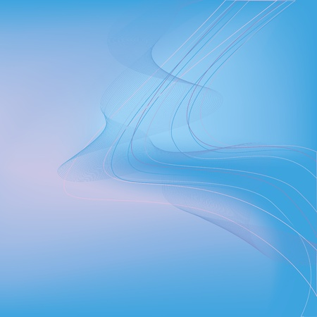 Abstract  light background vector  with colorful lines  blue  pink Vector