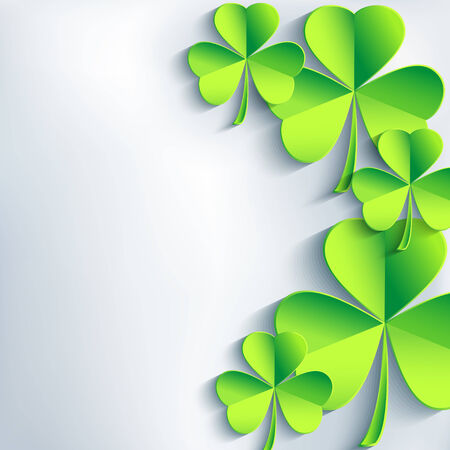 Stylish St  Patrick Vector