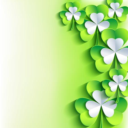 Beautiful abstract St. Patrick\\\\ Vector
