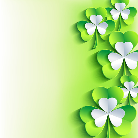 st  patrick: Beautiful abstract St. Patrick\\\\