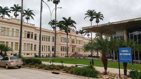 February 22, 2016, Viçosa, Minas Gerais, Brazil, Federal University of Viçosa, administrative headquarters in the Arthur Bernardes building.