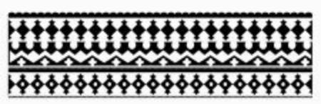 ornamental decoration black and white backdrop Ilustración de vector
