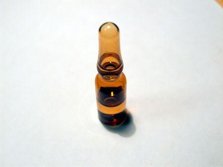 pilule: uno di vetro marrone medicina ricetta