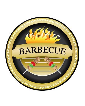 Barbecue Ilustração