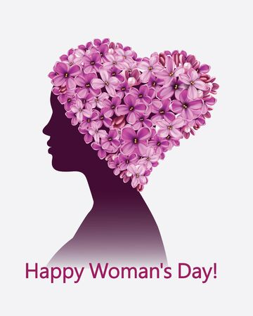 Happy Woman's Day. 8 March. Mother's Day