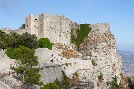 tourist spot: Erice-Trapani, tourist spot, typical of Sicily