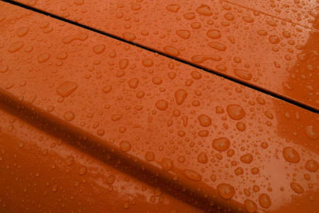 Drops of water on the car Stock Photo - 1878835
