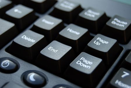 Computer keyboard in close up Stock Photo - 2010223