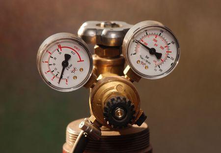 Gasvoordruk meten
