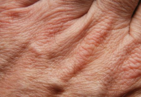 Human skin in close up Stock Photo - 2101943