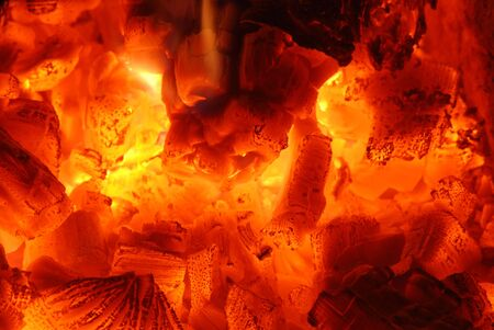 ember: Fire and ember Stock Photo