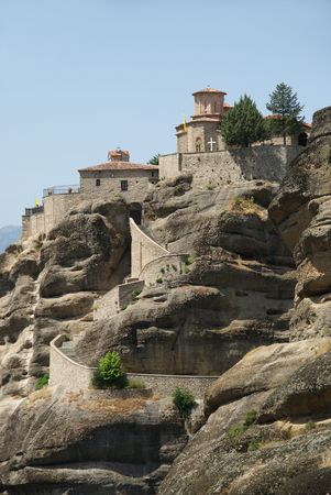 thessaly:  Holy Monastery  Varlaam, Meteora, Greece,  Thessaly