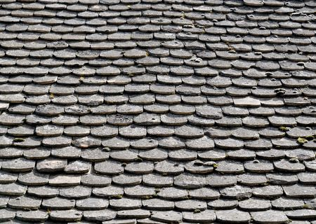 central european: Characteristic Central European  old tile roof