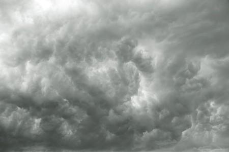 Dunkle stürmischen Wolken oder Rauch geeignet für Hintergründe