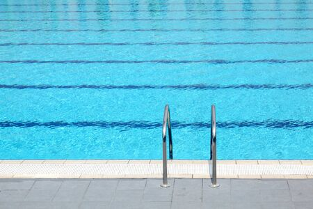 Detail from open air sports competition swimming pool Stock Photo - 7411780
