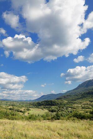serbia landscape: Landscape at Balkan Mountain (Stara Planina) National Park in Serbia Europe