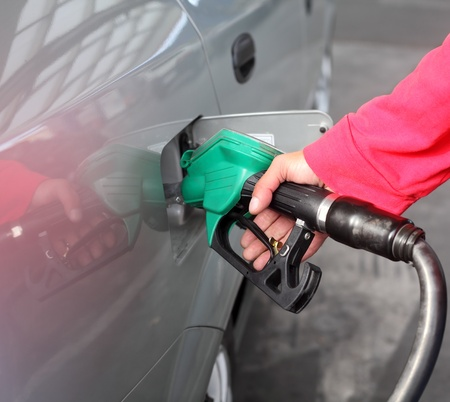 refills: Filling up of  fuel at petrol station