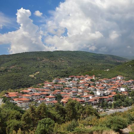 panteleimon: New Panteleimon, Nea Paneleimonas, Greece, Olympus region Stock Photo