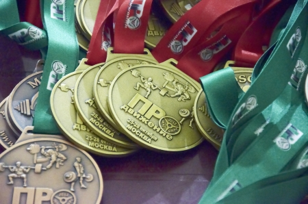 competitions on powerlifting in Russia