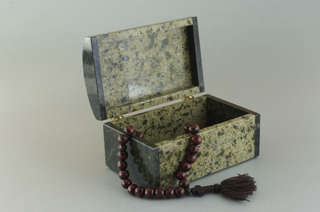 Stone Ural box from the coil  From Ekaterinburg, Russia  photo