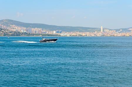 marmara: Cruise on the sea of Marmara, Turkey.