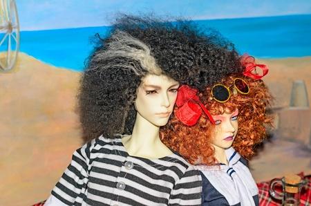 Dolls like people, people like dolls.