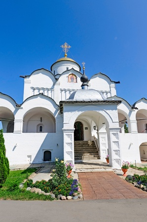The city of Suzdal, the Golden ring of Russia, Svyato-Pokrovsky convent, 1364.
