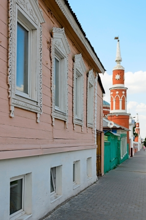 The architecture of the Kolomna Kremlin, city of Kolomna, Russia. Editorial