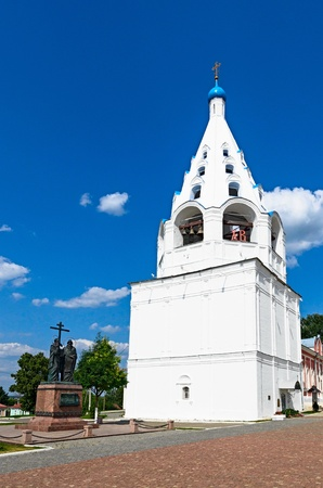 The architecture of the Kolomna Kremlin, city of Kolomna, Russia. photo