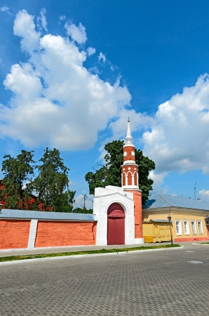 The architecture of the Kolomna Kremlin, city of Kolomna, Russia. Stock Photo