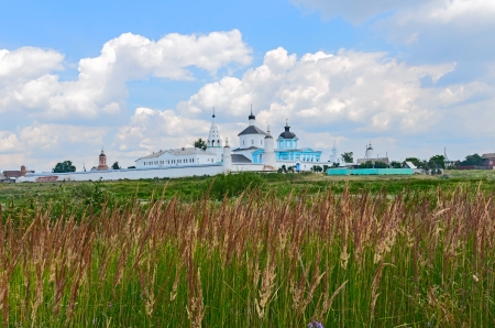 Bobrenev monastery founded in the XIV century by the blessing of the monk Sergei of Radonezh, Russia. photo